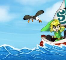 Wind Waker: Sailing the Great Sea Sticker