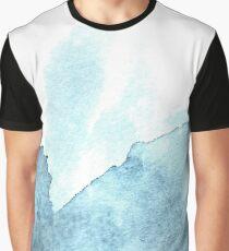 Splash of blue Graphic T-Shirt