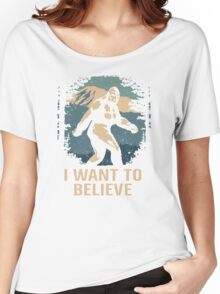 Believe In Bigfoot Women's Relaxed Fit T-Shirt