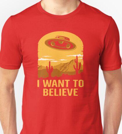 Believe In UFOs T-Shirt