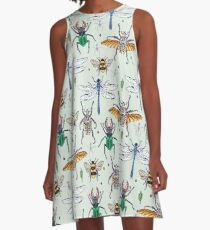lucky insects pattern A-Line Dress