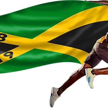 Usain Bolt World Record by roffy