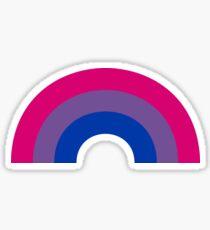 Bi Rainbow Sticker