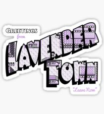 Greetings from Lavender Town Sticker