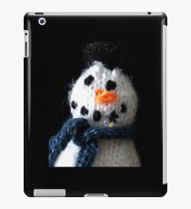 Knitted snowman iPad Case/Skin