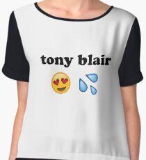 tony blair-kun Women's Chiffon Top