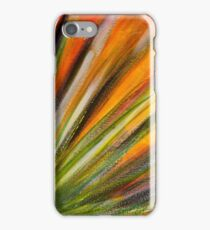 Desert Bloom in Orange iPhone Case/Skin