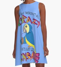 Jimmy Buffet Parrothead A-Line Dress