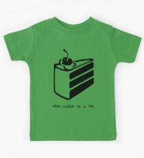 The Cake is a Lie Kids Tee