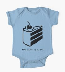 The Cake is a Lie One Piece - Short Sleeve