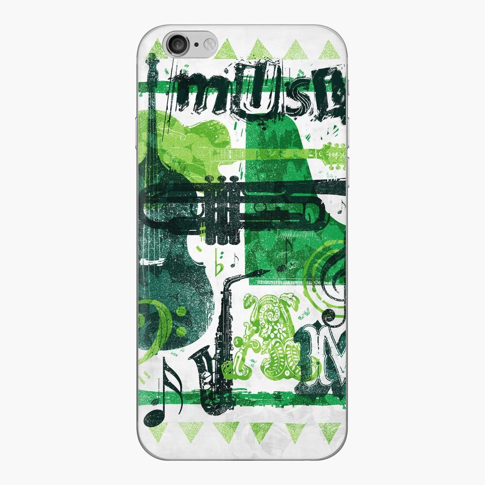 Music Jam iPhone Skin