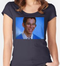 Bill Haverchuck, Freaks and Geeks Women's Fitted Scoop T-Shirt