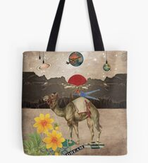 Animal Collection by Elo -- Desert Is A Lonely Place Tote Bag