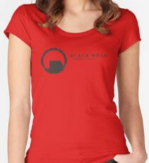 Black Mesa Research Facility Women's Fitted Scoop T-Shirt