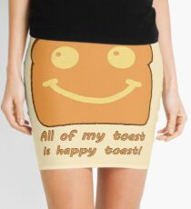 Happy Toast Mini Skirt