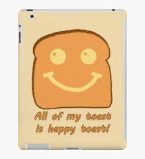 Happy Toast iPad Case/Skin