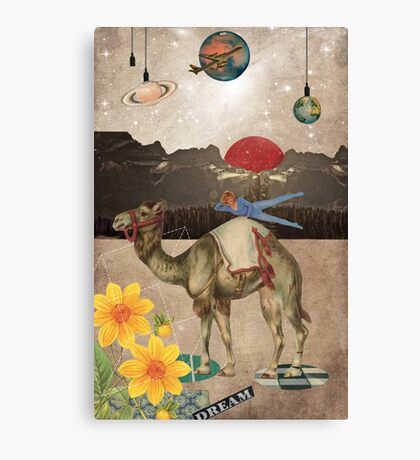 Animal Collection by Elo -- Desert Is A Lonely Place Canvas Print