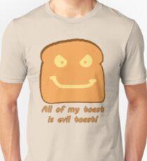 Evil Toast! Unisex T-Shirt