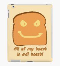 Evil Toast! iPad Case/Skin