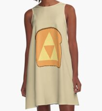 Triforce toast A-Line Dress