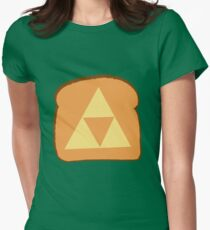 Triforce toast Women's Fitted T-Shirt