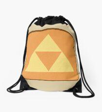 Triforce toast Drawstring Bag