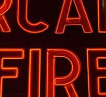 Arcade Fire Sign Sticker