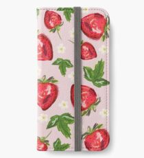 Strawberry Botanical iPhone Wallet/Case/Skin