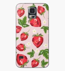 Strawberry Botanical Case/Skin for Samsung Galaxy