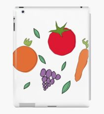 vegetables & fruits iPad Case/Skin