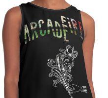 Arcade Fire Logos Contrast Tank