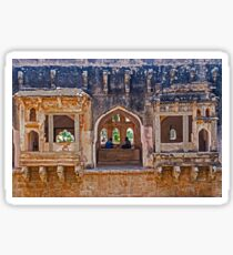 Queens Bath Hampi. Sticker