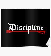 Discipline, BDSM whip Poster