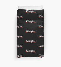 Discipline, BDSM whip Duvet Cover