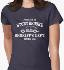 StoryBrooke - Sheriff's Department Women's Fitted T-Shirt