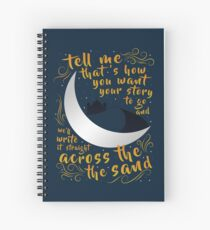Across The Sand | Rebel of the Sands Spiral Notebook