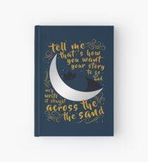 Across The Sand   Rebel of the Sands Hardcover Journal