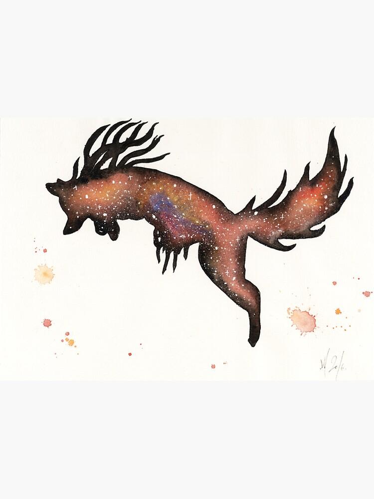 Red Nebular Fox by creaturesofnat