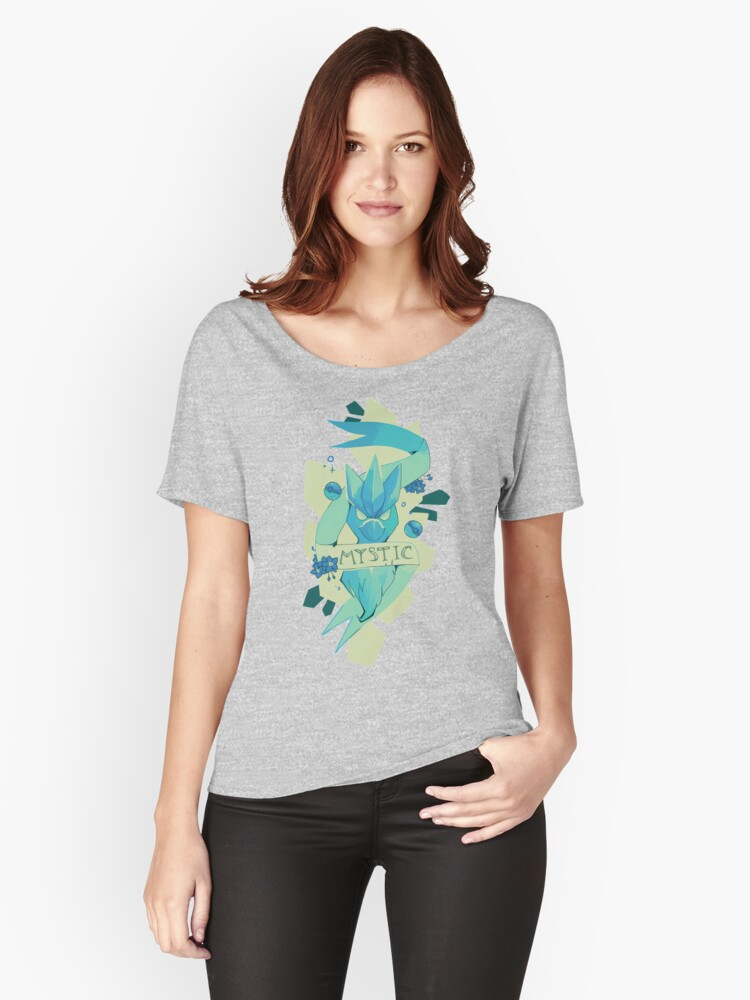 MYSTIC Women's Relaxed Fit T-Shirt Front