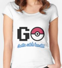 GO! Women's Fitted Scoop T-Shirt