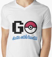 GO! Men's V-Neck T-Shirt