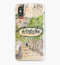 Paris Metropolitan Sign iPhone Case/Skin