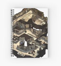 Dust 2 Isometric CSGO Map Spiral Notebook