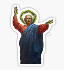 Pickle Jesus Sticker