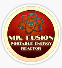 Logo - Mr. Fusion Sticker