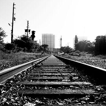 RAILROAD B/W by Yago