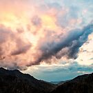 Storm Clouds at Sunset by KellyHeaton