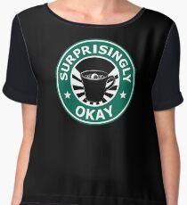 Sherlock's Coffee (Surprisingly Okay) Women's Chiffon Top