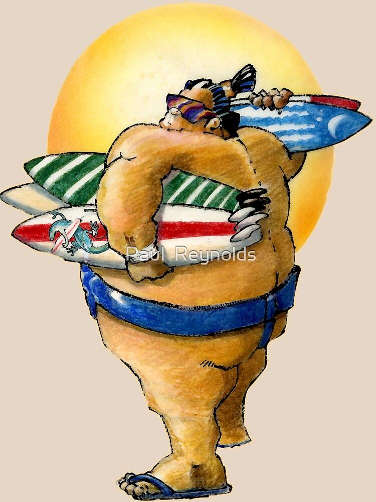 Sumo Surfer II by Paulreynolds