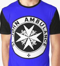TARDIS St. John's Ambulance Logo (available as leggings!) Graphic T-Shirt